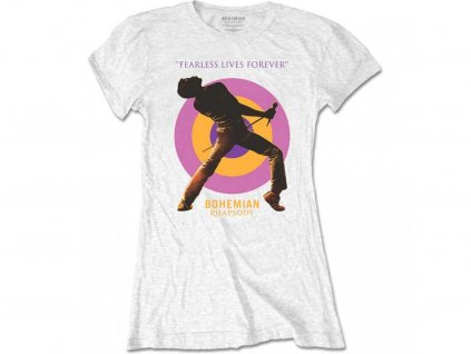 Dámske licencované tričko Queen Bohemian Rhapsody