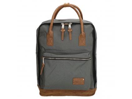 "Laptop batoh 15,6"" Enrico Benetti Santiago - sivý"
