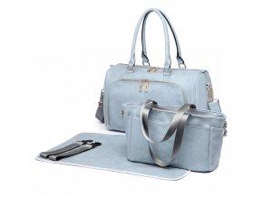 Sada luxusných materských tašiek - modrá