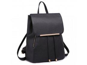 Elegantný dámsky ruksak - Čierny