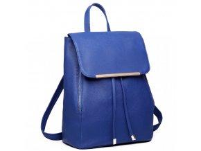 Elegantný dámsky ruksak - Modrý