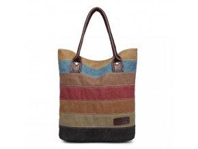 Kono Dúhová Canvas nákupná taška