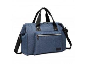 Materská cestovná taška - modrá
