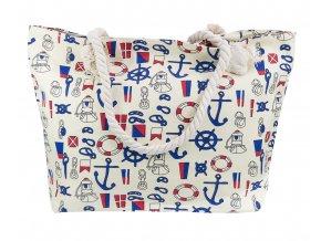 Plážová taška - Marina Béžová