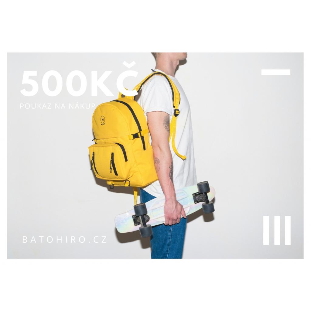 BATOHIRO VOUCHER 500