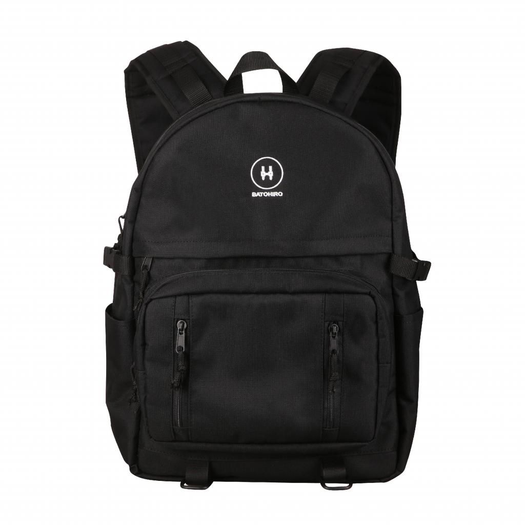 Černý batoh Haruko přední