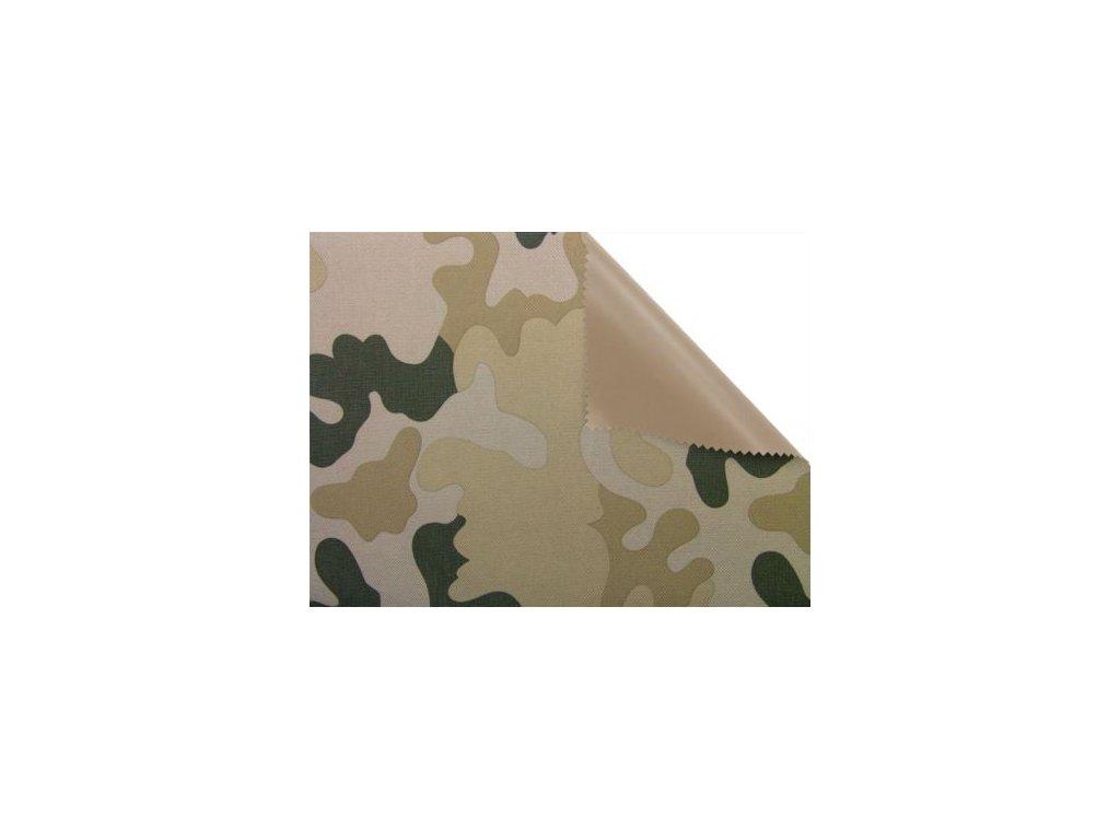 polyesterova tkanina premium 600d300d potazena pvc f vzor 7 150 cm 50 m