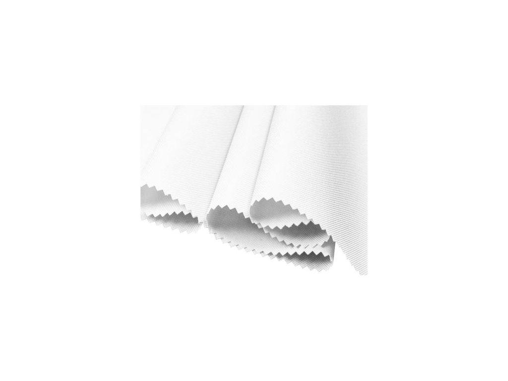 tkanina poliestrowa oxford 600d pu2 wodoodporna 501 bialy 160 cm 1 mb