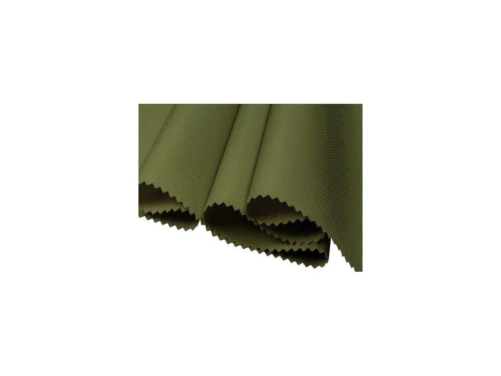 polyesterova tkanina 600d pu olivova 160 cm 1 m