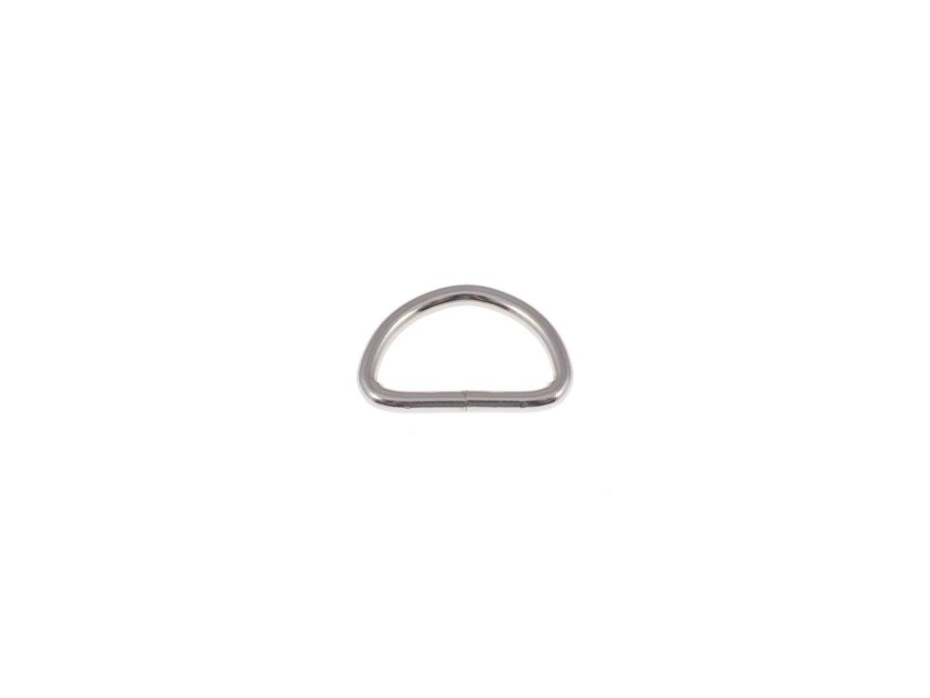 kovovy polkole 40 30 5 mm niklovy drat