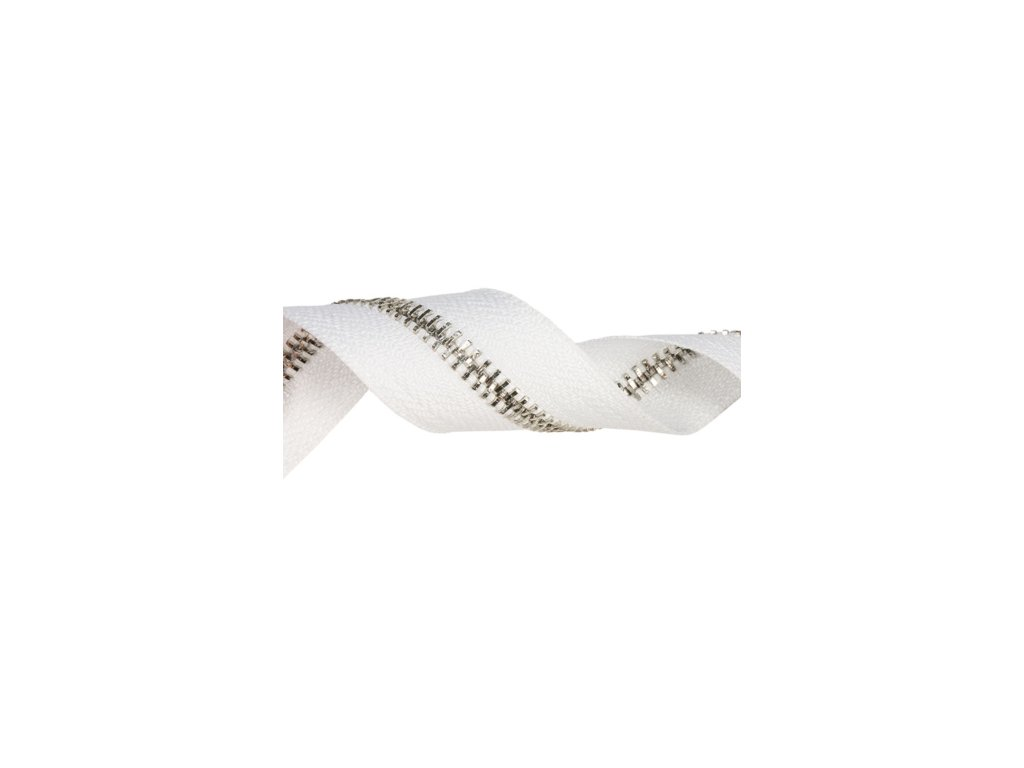 tasma suwakowa pes metalowa 5 biala 501 33 mm nikiel polysk 50 mb