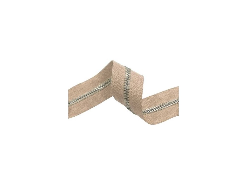 tasma suwakowa pes metalowa 5 bezowa 101 33 mm nikiel polysk 100 mb
