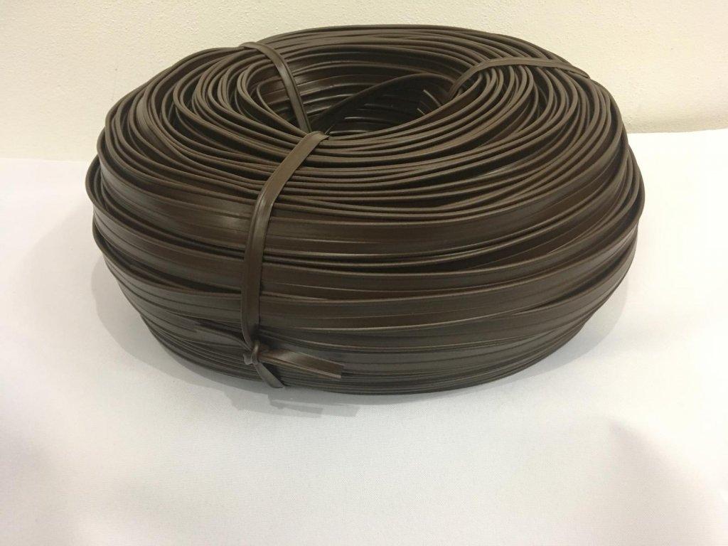 KEDR - PASPULE PVC (HNĚDÁ)