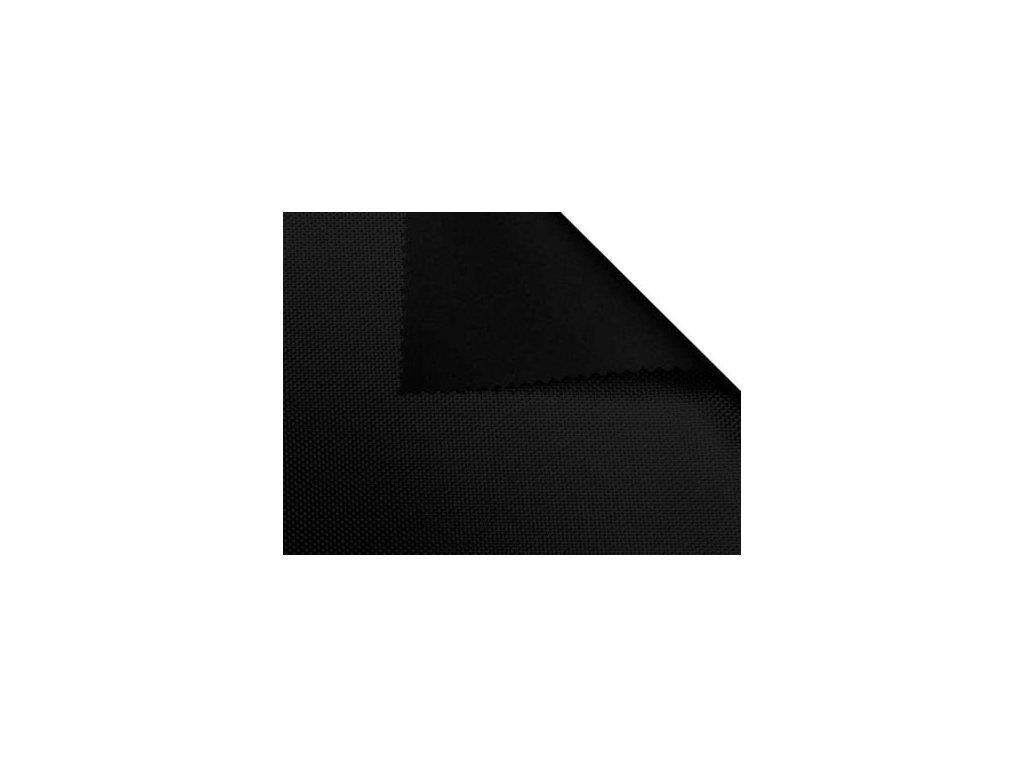 polyesterova tkanina 1680d potazena pvc f double cerna 580 150 cm 1 m