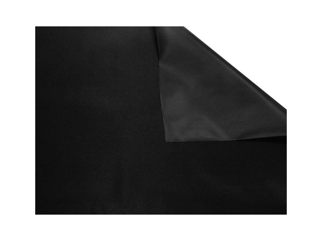 nylonova tkanina 190d potazena pvc f a grade cerna 580 150 cm 1 m (2)