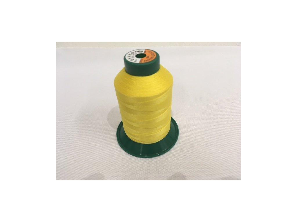 Šicí nit SYNTON 30 - 900 m - žlutá 0113