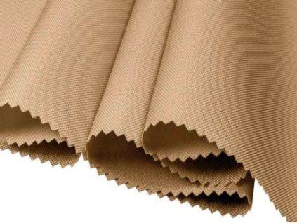 polyesterova tkanina 600d pu bezova 160 cm 1 m 17891