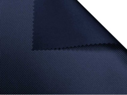 polyesterova tkanina 1680d potazena pvc f dvojita tmavomodra 058 150 cm 1 m
