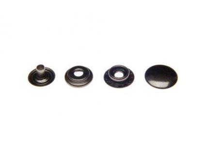 kovova patentka 15 mm cerny nikl 200 ks 1