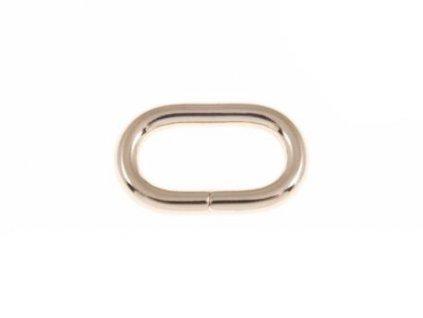 kovove kolecko oval 32 16 58 mm zlato drat 100 ks1