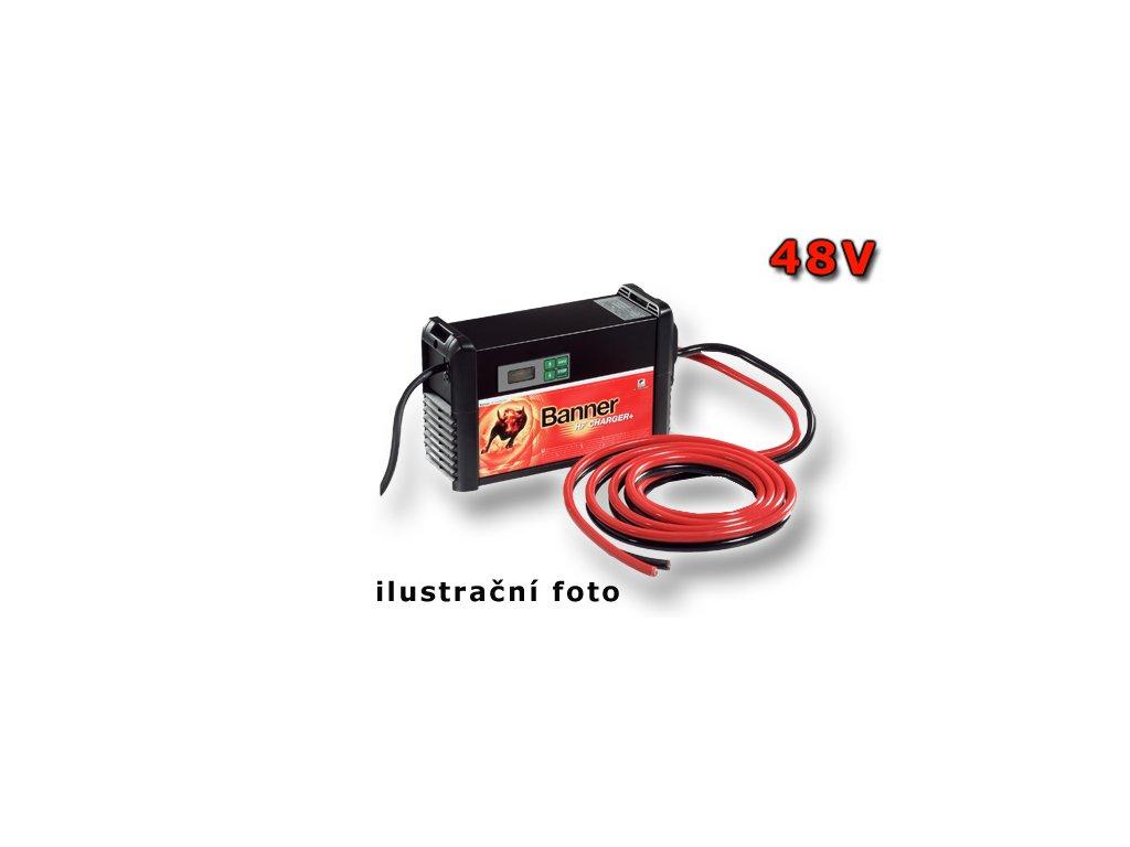 Nabíječka Banner HF + 4120 T, 48V