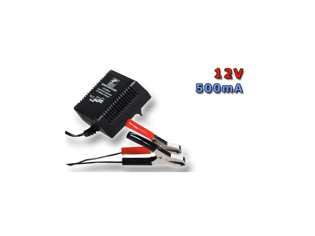 Nabíječka Stand by HF Automatic Charger 12V/500mA (trafo nabíječ), 0,5A, 12V