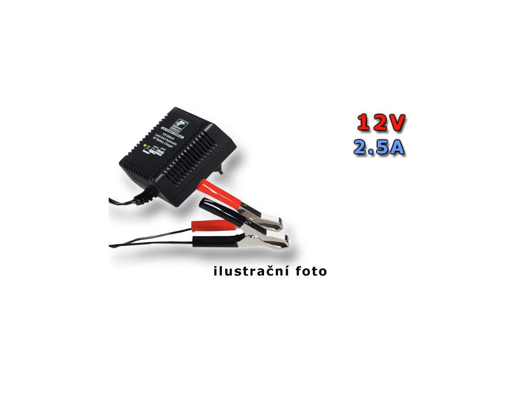 Nabíječka Stand by HF Automatic Charger 12V/2,5A, 2.5A, 12V