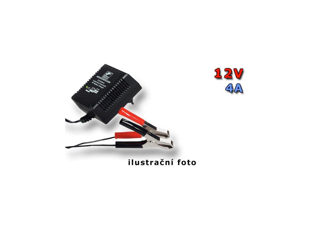 Nabíječka Stand by HF Automatic Charger 12 V/4A, 4A, 12V