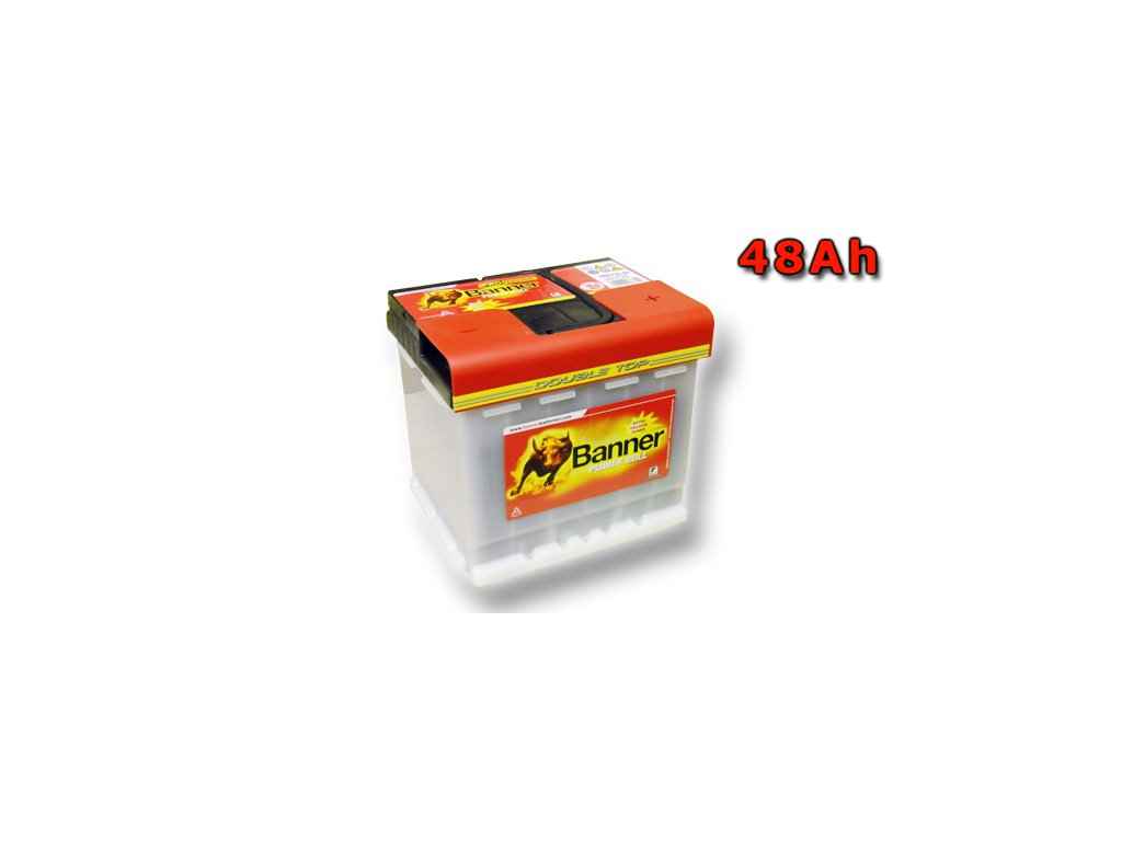 Autobaterie Banner Power Bull PROfessional P48 40, 48Ah, 12V ( P4840 ), technologie Ca/Ca