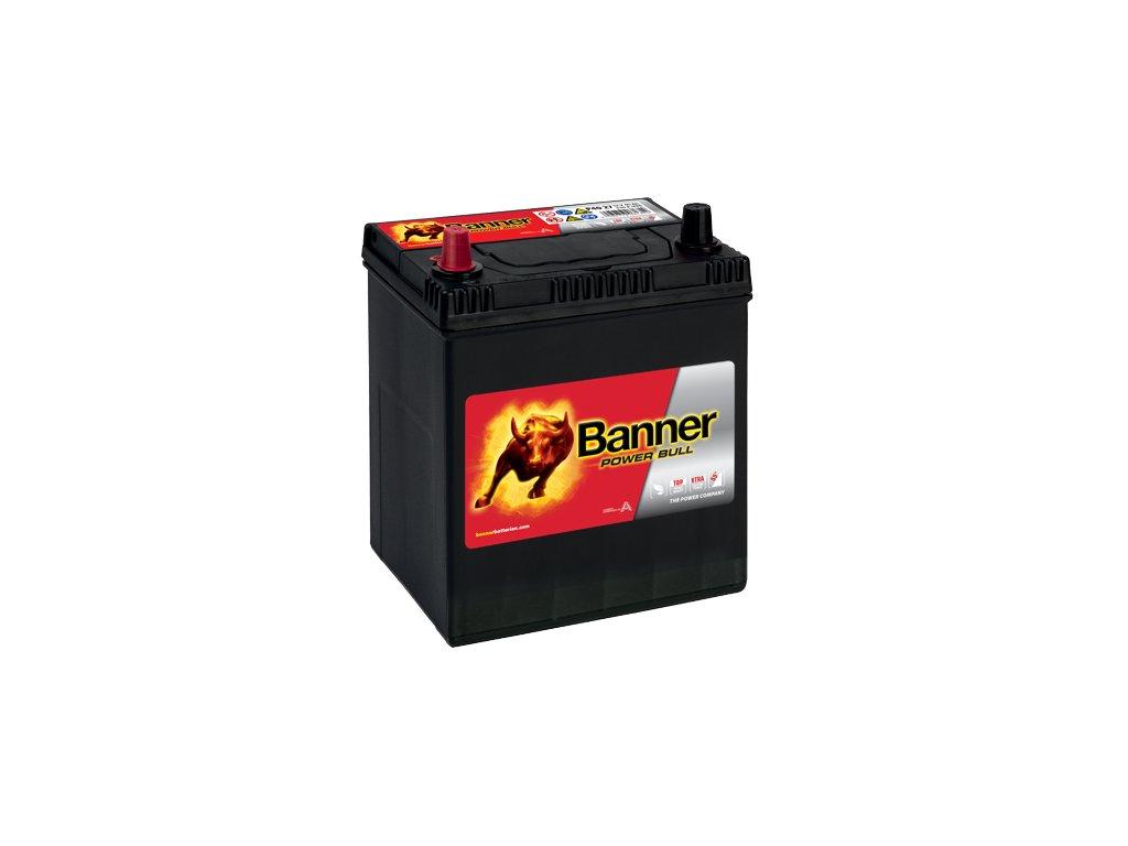 Autobaterie Banner Power Bull P40 27, 40Ah, 12V ( P4027 ), technologie Ca/Ca
