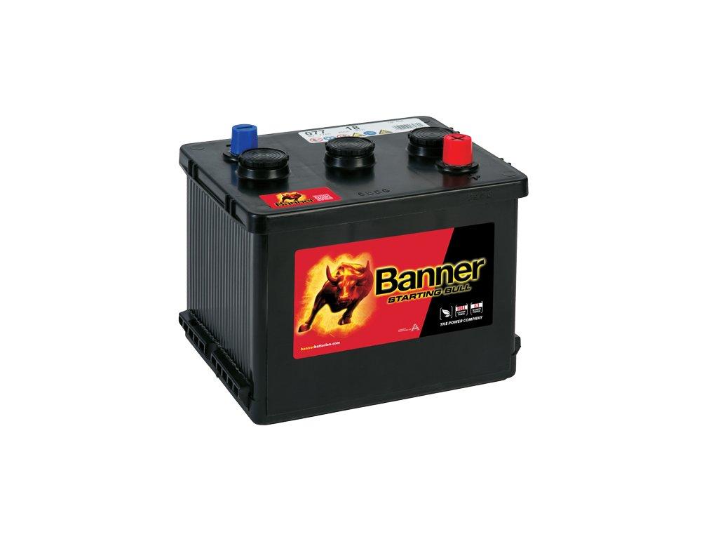 Autobaterie Banner Starting Bull 077 18, 77Ah, 6V ( 07718 ), technologie Ca/Ca