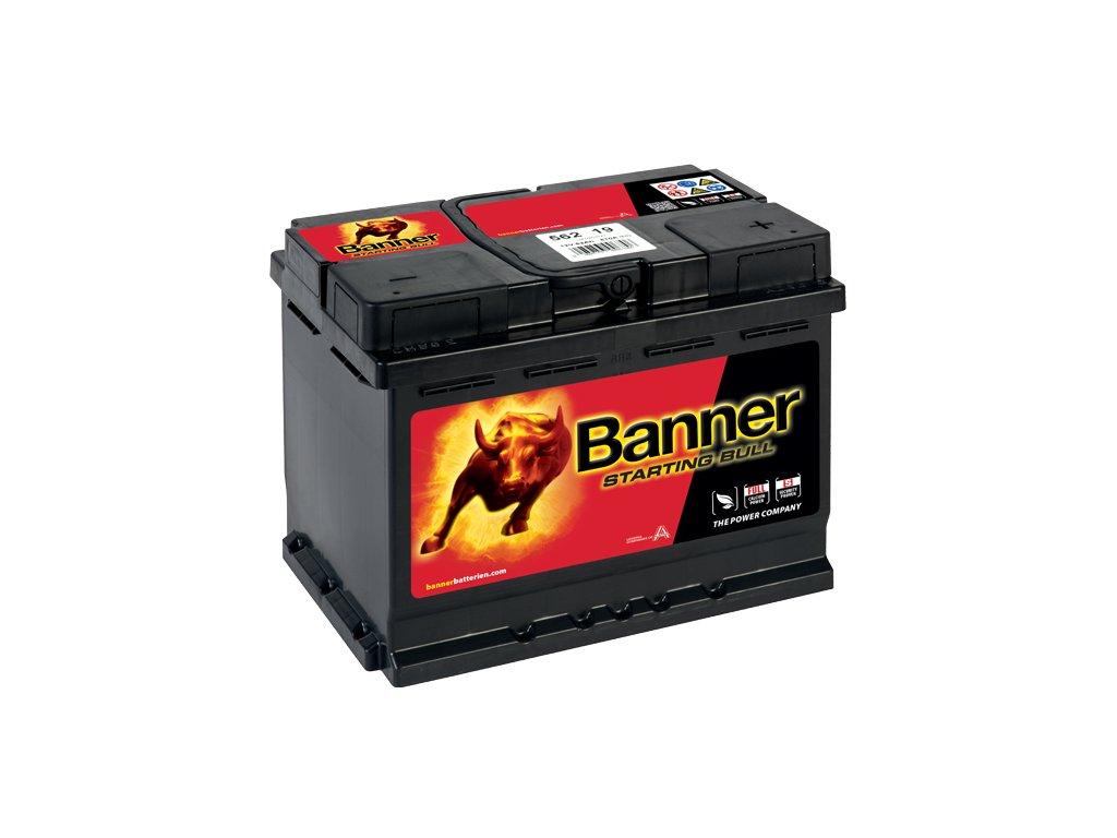 Autobaterie Banner Starting Bull 562 19, 62Ah, 12V ( 56219 ), technologie Ca/Ca