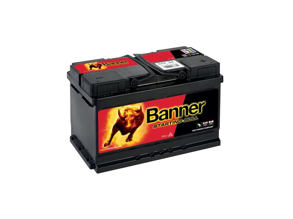 Autobaterie Banner Starting Bull 570 44, 70Ah, 12V ( 57044 ), technologie Ca/Ca