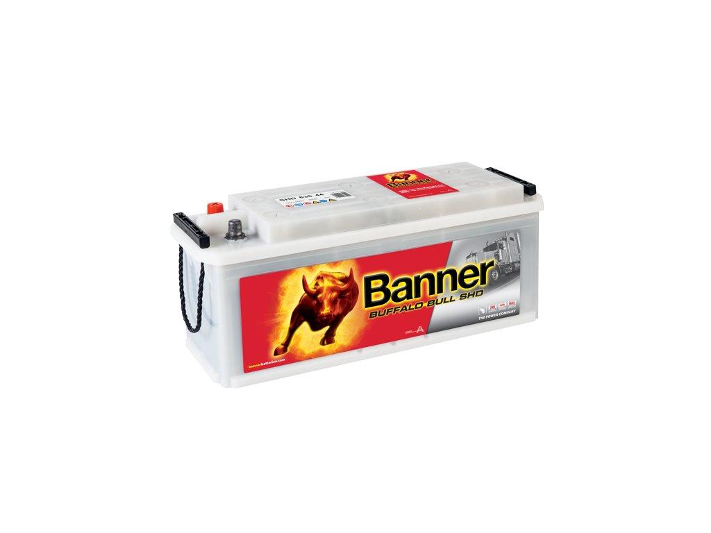 Autobaterie Banner Buffalo Bull SHD 635 44, 135Ah, 12V ( 63544 ), technologie Sb/Ca