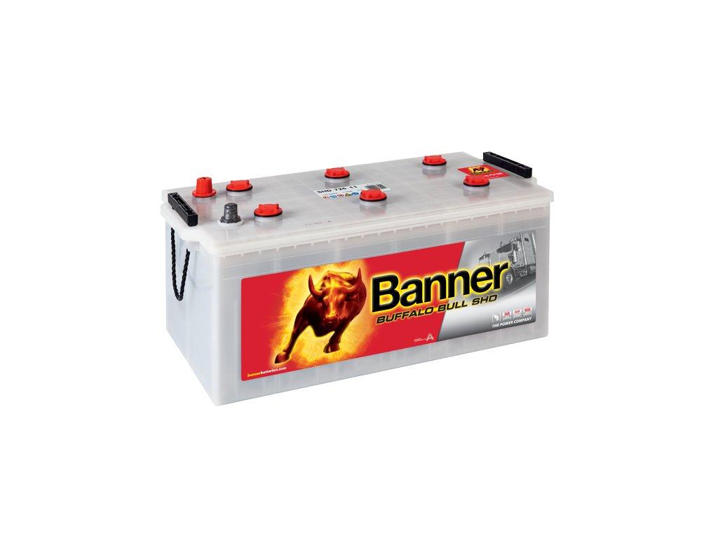 Autobaterie Banner Buffalo Bull SHD 725 11, 225Ah, 12V ( 72511 ), technologie Sb/Ca
