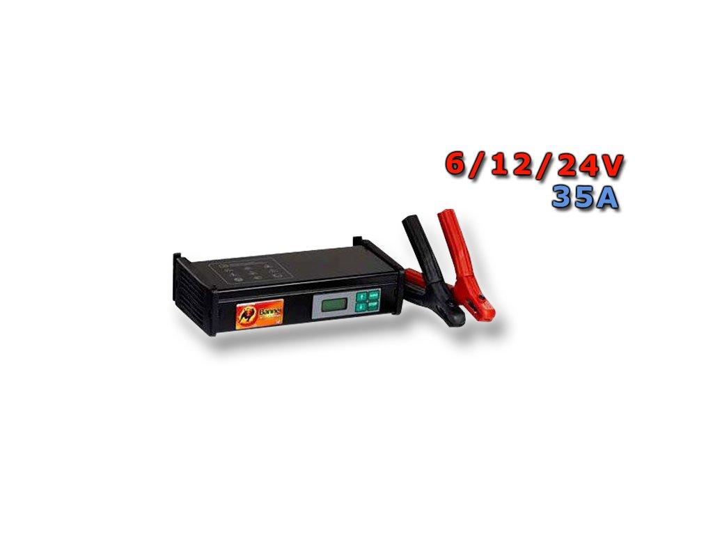 Nabíječka Banner charger Professional, 6/12/24V, 35A