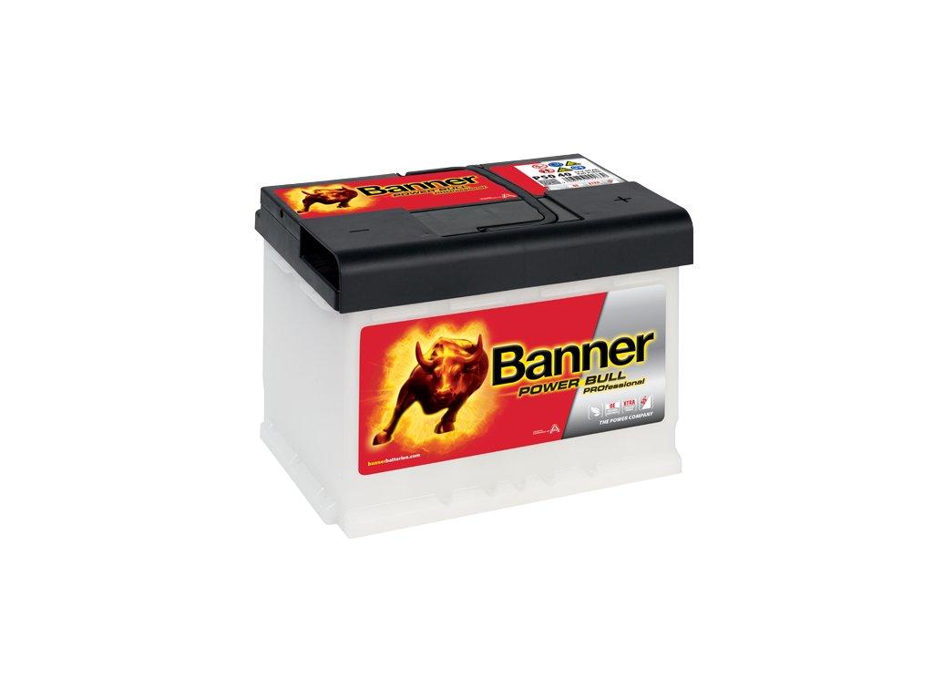 Autobaterie Banner Power Bull PROfessional P50 40, 50Ah, 12V ( PRO P50  40), technologie Ca/Ca