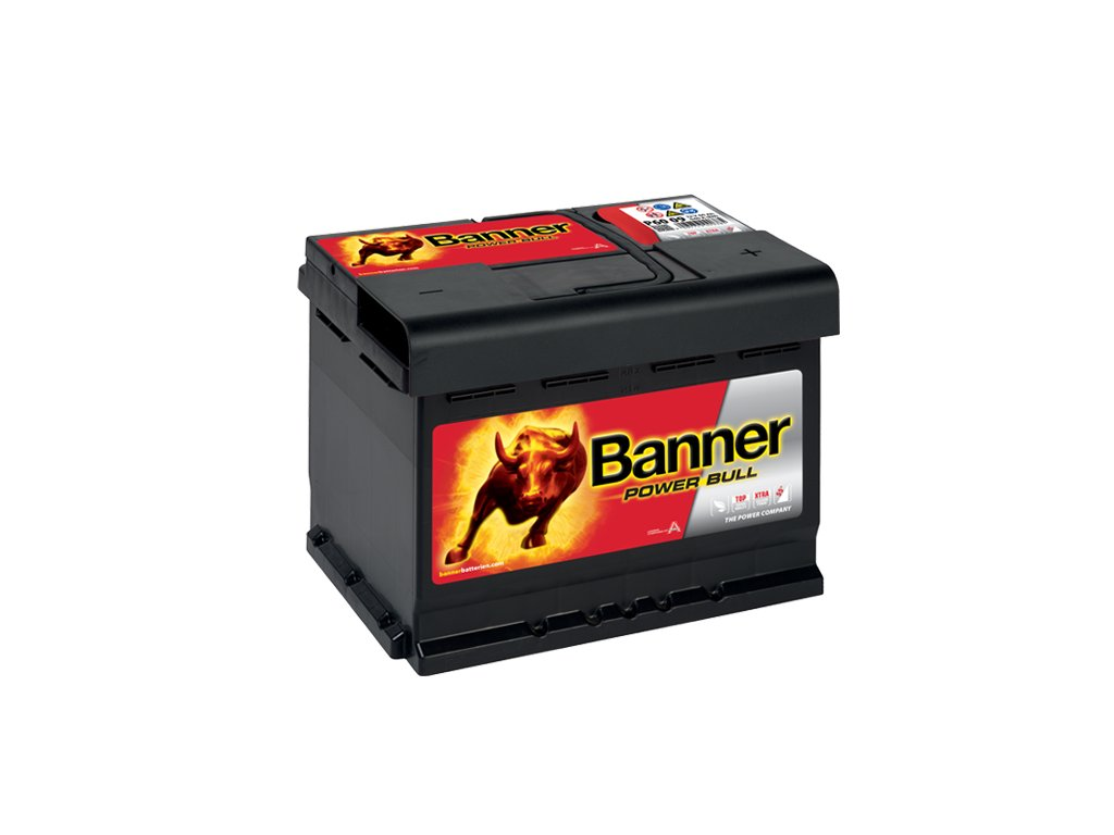Autobaterie Banner Power Bull P60 09, 60Ah, 12V ( P60 09 ), technologie Ca/Ca