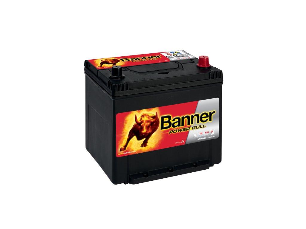 Autobaterie Banner Power Bull P60 62, 60Ah, 12V ( P60 62 ), technologie Ca/Ca