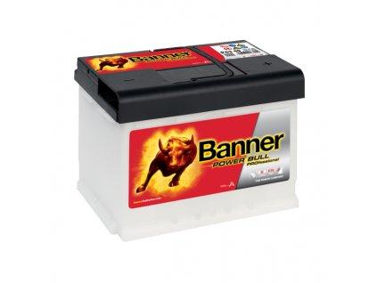 Autobaterie Banner Power Bull PROfessional P63 40, 63Ah, 12V ( P6340), technologie Ca/Ca