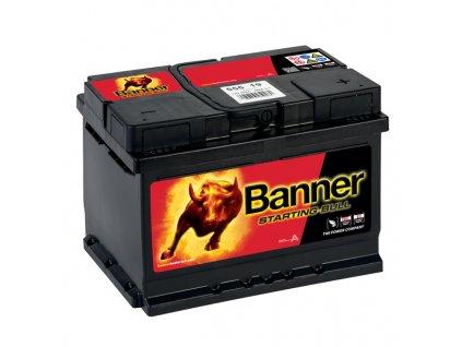 Autobaterie Banner Starting Bull 555 19, 55Ah, 12V ( 55519 ), technologie Ca/Ca