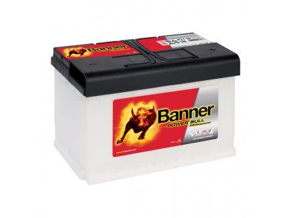 Autobaterie Banner Power Bull PROfessional P77 40, 77Ah, 12V ( PRO P77  40), technologie Ca/Ca