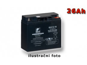 Stand by Bull Bloc GiV 12-26, 26Ah, 12V