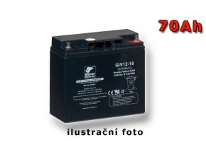 Stand by Bull Bloc GiV 12-70, 70Ah, 12V