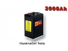 Stand by Bull cell VLIES SCV 2-2000, 2000Ah, 2V