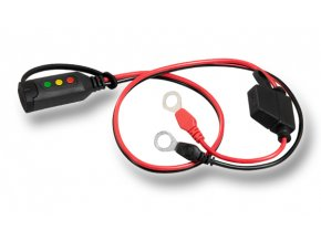 Konektor komfort s indikací stavu baterie očko