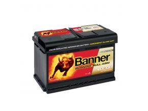 Autobaterie Banner Running Bull AGM 570 01, 70Ah, 12V ( 57001 )