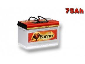 Autobaterie Banner Power Bull PROfessional P75 40, 75Ah, 12V ( P7540), technologie Ca/Ca