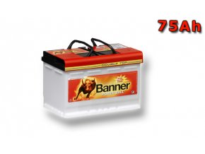 Autobaterie Banner Power Bull PROfessional P75 40, 75Ah, 12V ( P7540), technologie Ca/Ca
