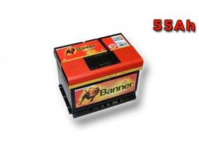 Autobaterie Banner Power Bull P55 19, 55Ah, 12V ( P5519 ), technologie Ca/Ca